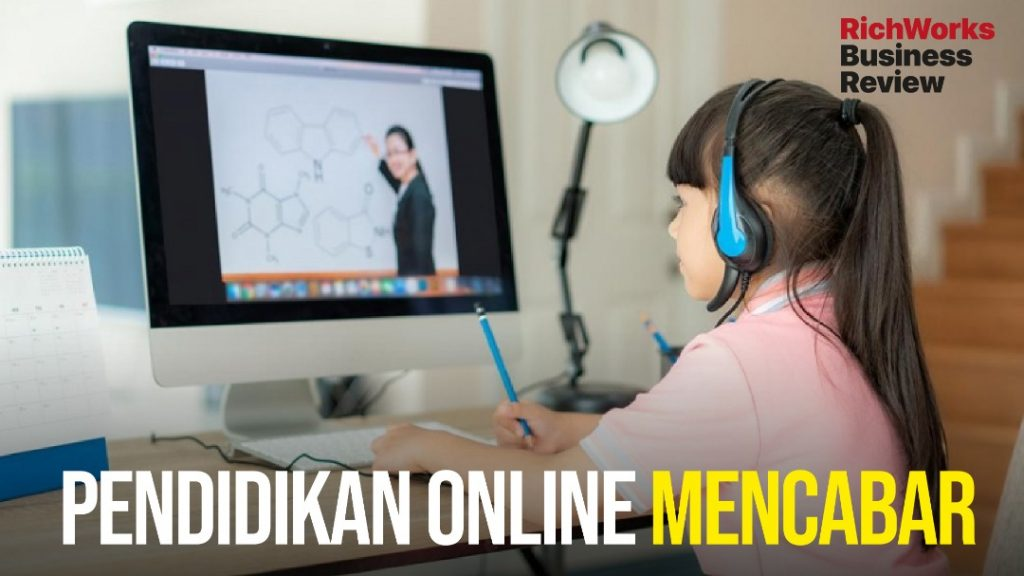 pendidikan online mencabar