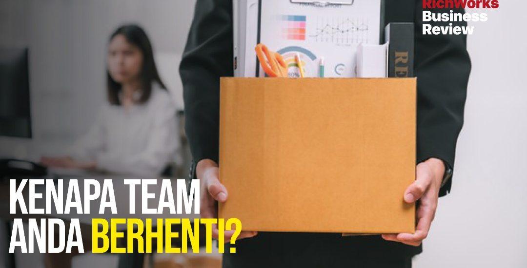 Kenapa Team Anda Berhenti?