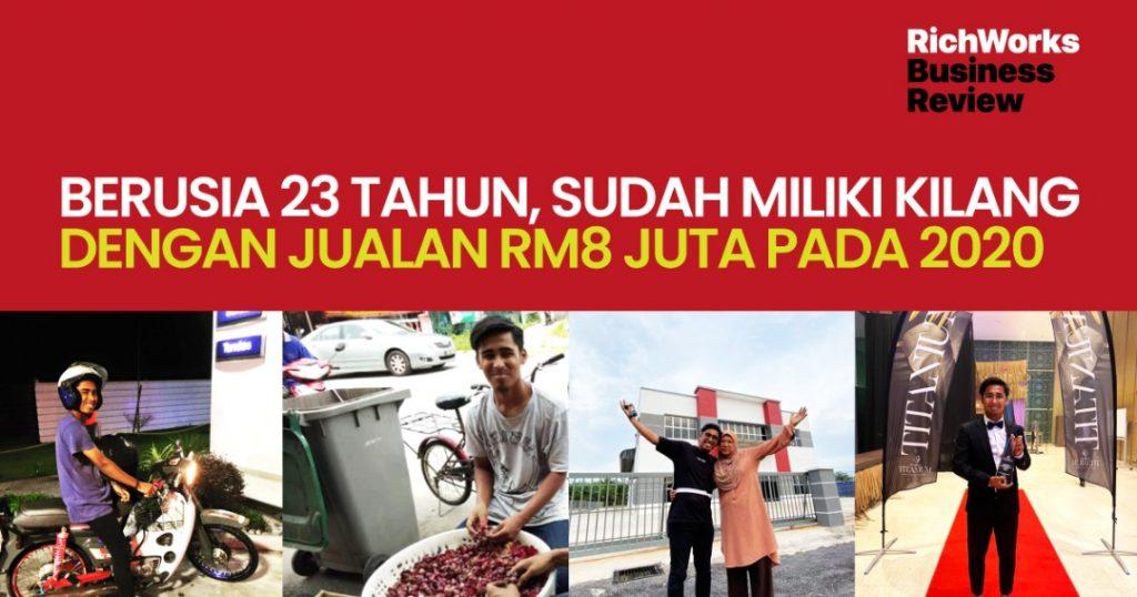 Eng's Popcorn : Berusia 23 Tahun, Sudah Miliki Kilang Dengan Jualan RM8 Juta Pada 2020