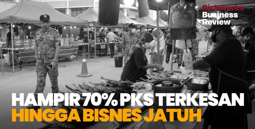 Hampir 70% PKS Terkesan Hingga Bisnes Jatuh
