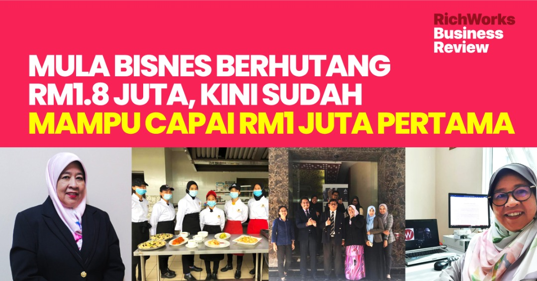 Kolej Kiara : Mula Bisnes Berhutang RM1.8 Juta, Kini Sudah Mampu Capai RM1 Juta pertama