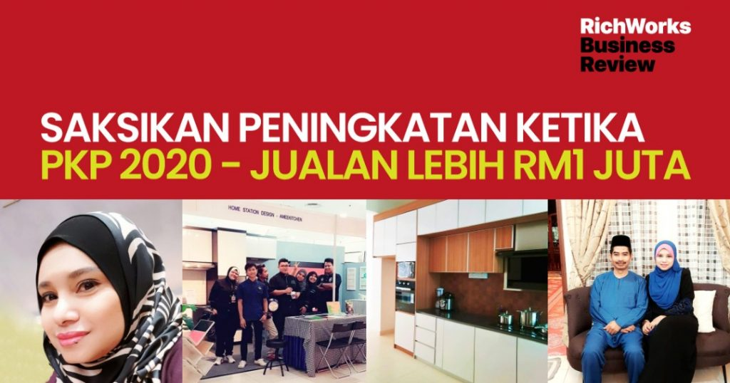 A'mee Kitchen : Saksikan Peningkatan Ketika PKP 2020 - Jualan Lebih RM1 juta