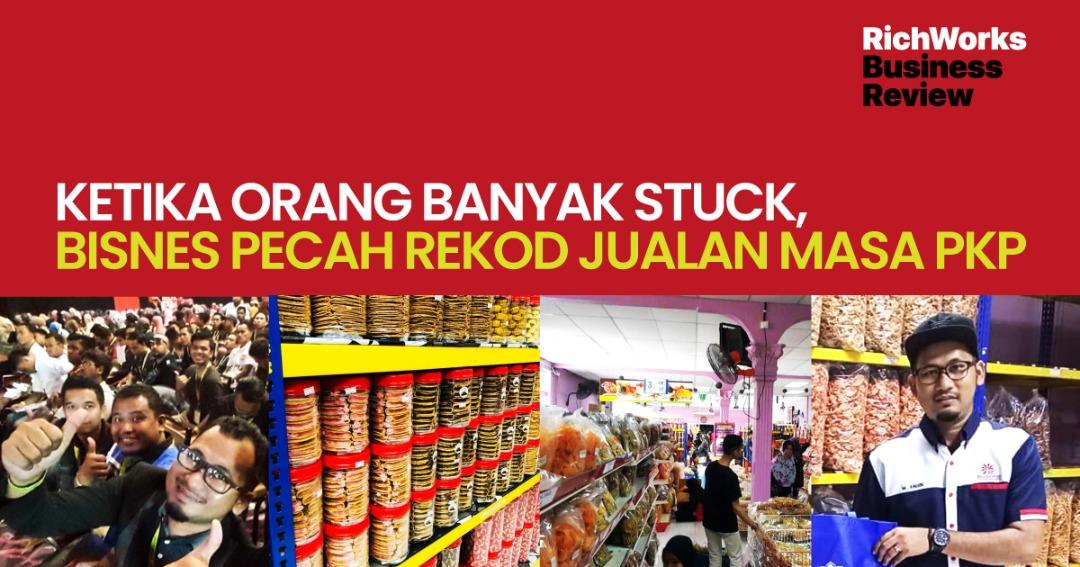 Salleh Food : Ketika Orang Banyak Stuck, Bisnes Pecah Rekod Jualan Masa PKP