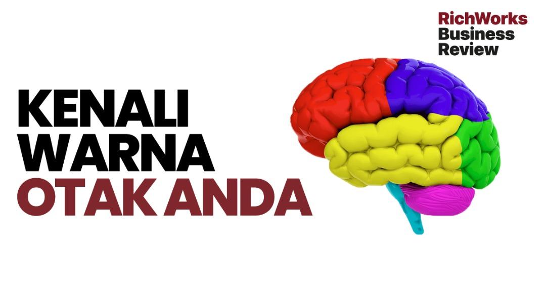 Kenali Warna Otak Anda. 4 kategori warna