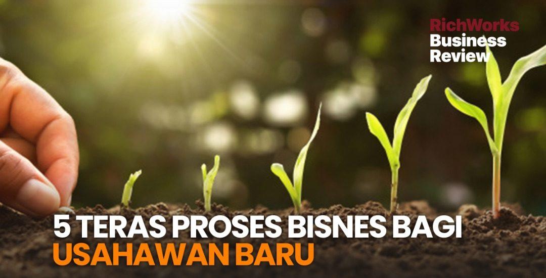 5 Teras Proses Bisnes Bagi Usahawan Baru
