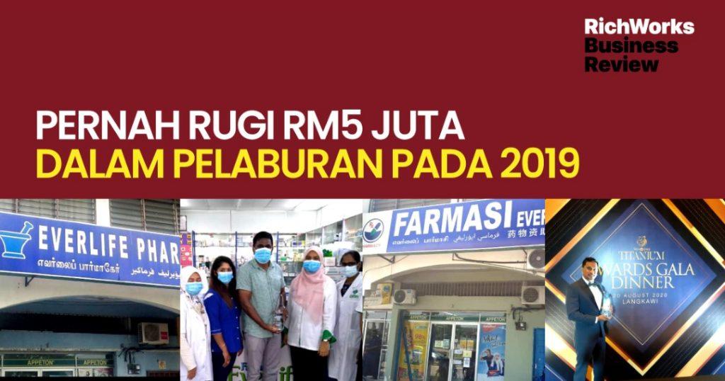 Farmasi Everlife : Founder Pernah Rugi RM5 Juta dalam Pelaburan Pada 2019