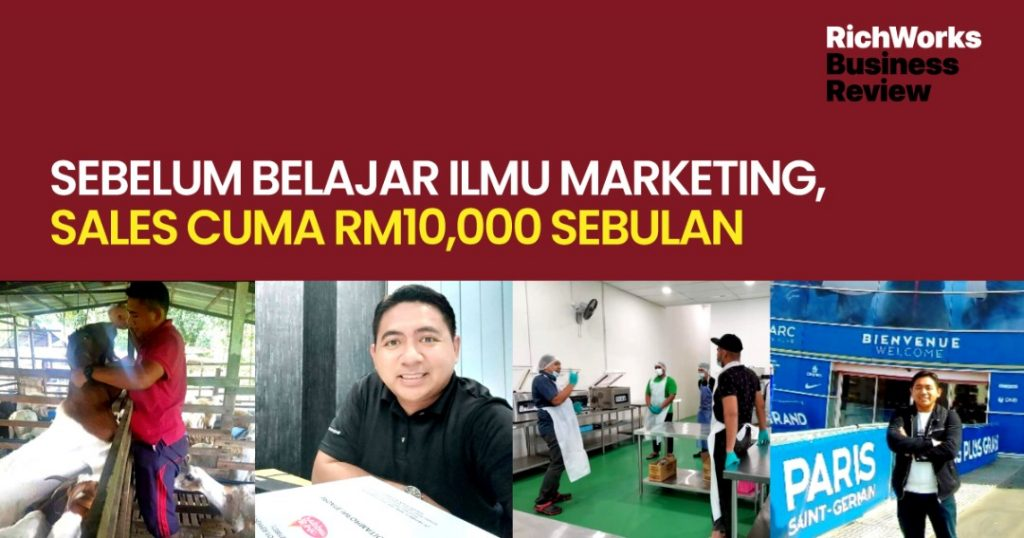 Mr Pepper : Founder Sebelum Belajar Ilmu Marketing, Sales Cuma RM10,000 Sebulan
