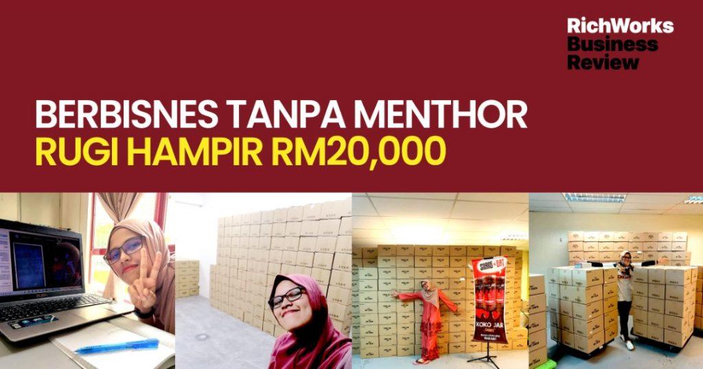 Puan Mahirah Sahimi : Berbisnes Tanpa MenThor, Rugi Hampir RM20,000