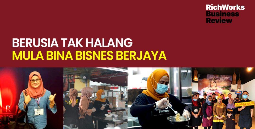 DKS King Mee Kolok : Berusia Tak Halang Mula Bina Bisnes Berjaya
