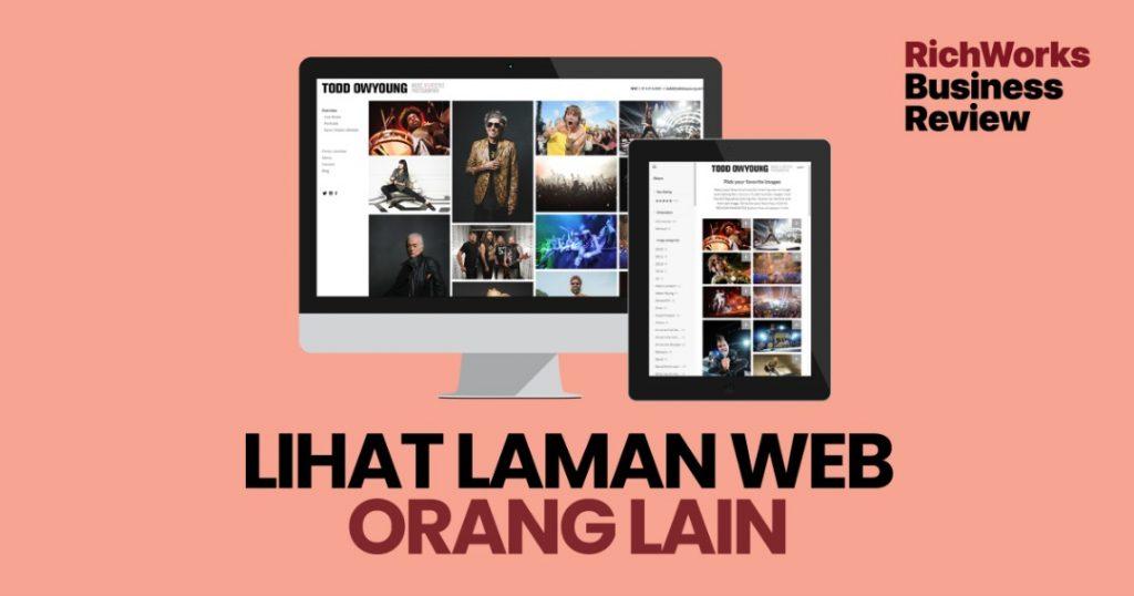 Lihat Laman Web Orang Lain