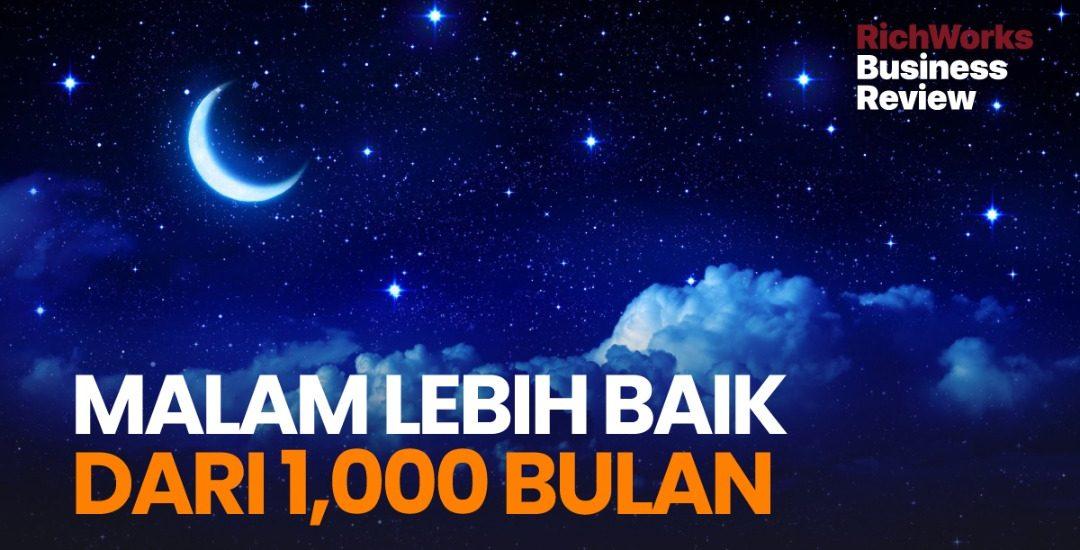 Lailatulqadar : Malam Lebih Baik Dari 1,000 Bulan