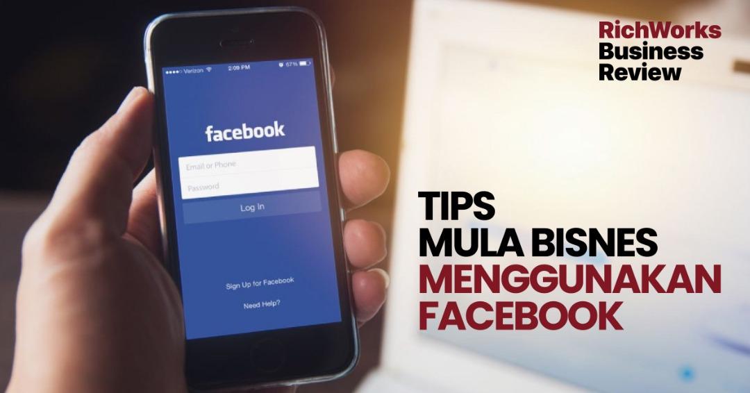 Tips Mula Bisnes Guna Facebook
