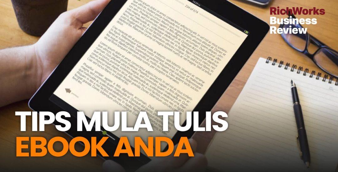 Tips Mula Tulis eBook Anda