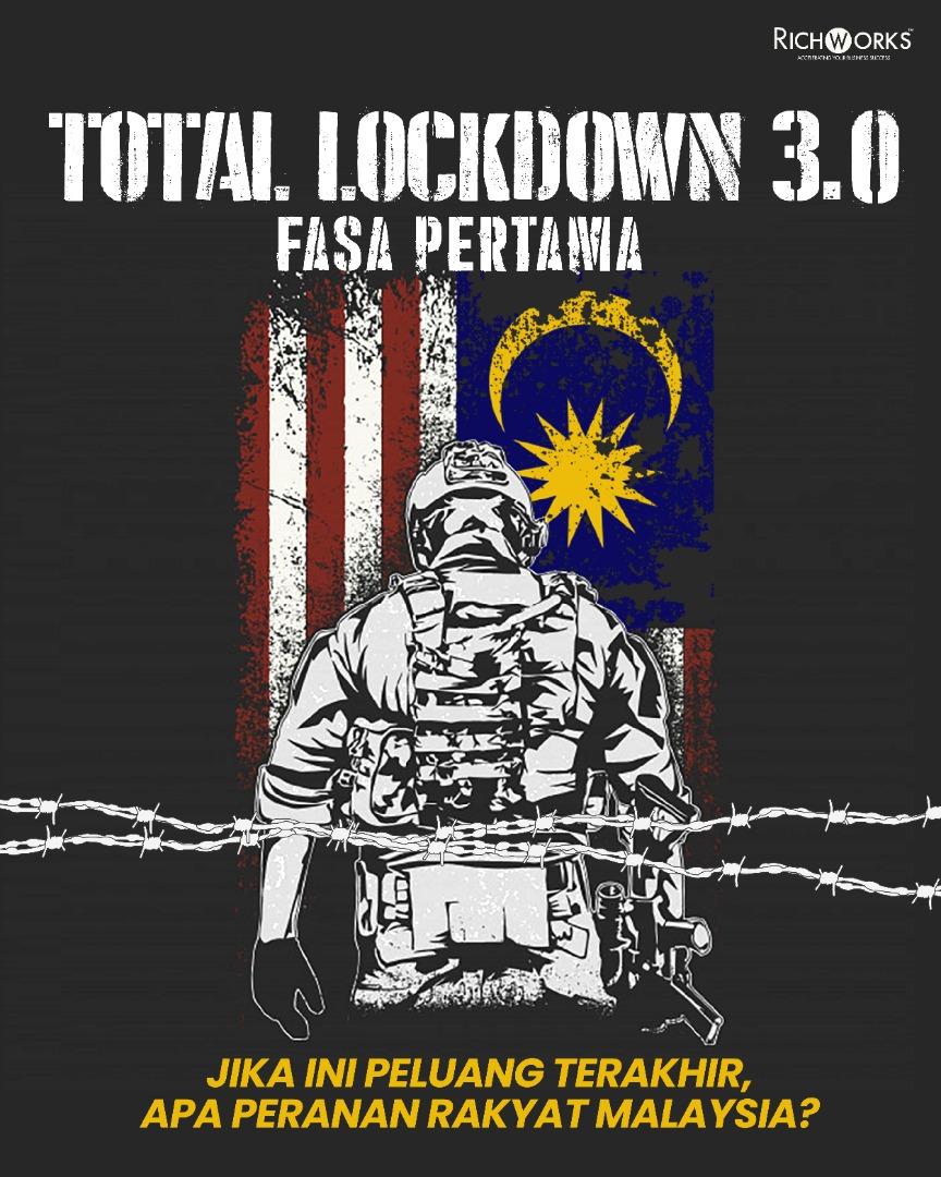 TOTAL LOCKDOWN 3.0 FASA PERTAMA: JIKA INI PELUANG TERAKHIR, APA PERANAN RAKYAT MALAYSIA?