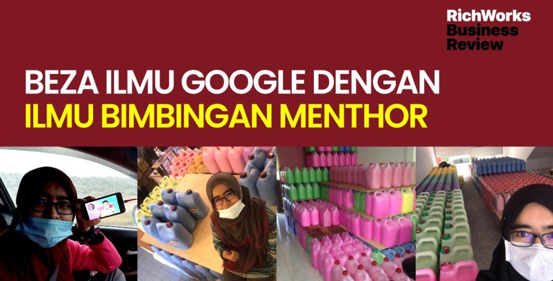 Beza Ilmu Google Dengan Ilmu Bimbingan MenThor - Puan Dallia Amir