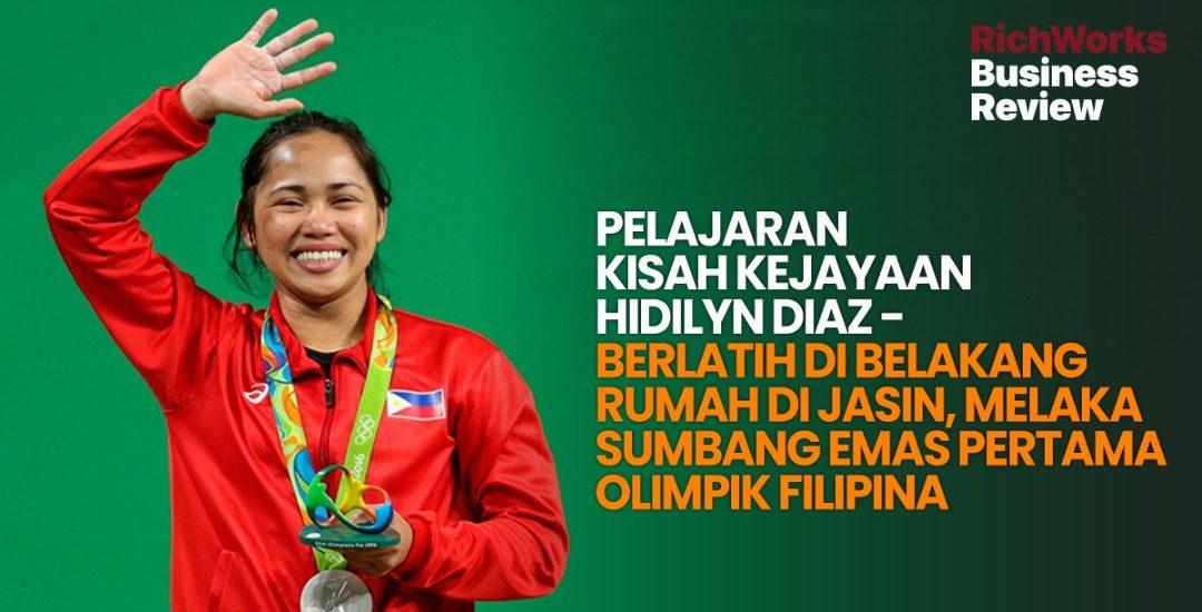 Hidilyn Diaz - Berlatih Di Belakang Rumah di Jasin, Melaka Sumbang Emas Pertama Olimpik Filipina