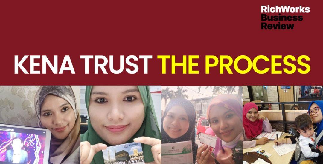 Puan Suraya Tamat - Trust The Process
